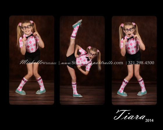 Tiara wed hip hop collage